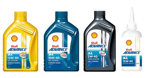 Shell Advance Launches Scooter Oils