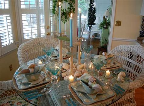 inspiring coastal thanksgiving table setting