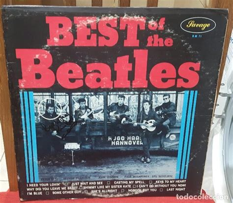Beatles Best Of Pete Best Beatles Best Of The Beatles Lp Fir Vendido