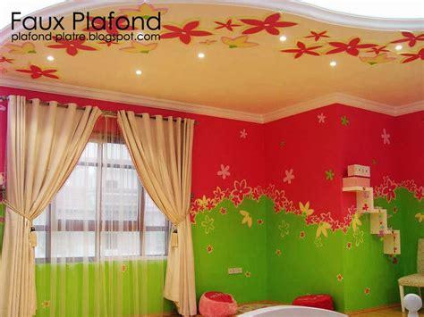 le de plafond pour chambre decoration faux plafond