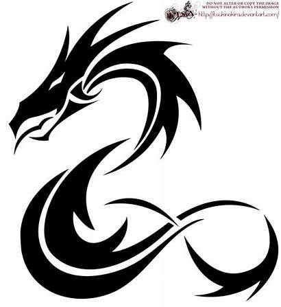 Dragon Tribal Tattoo Designs Nice Idea Simple