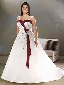 plus size white ivoryburgundy purple wedding dress bridal With plus dresses for weddings