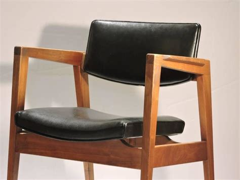 mid century modern lounge chairs by w h gunlocke at 1stdibs