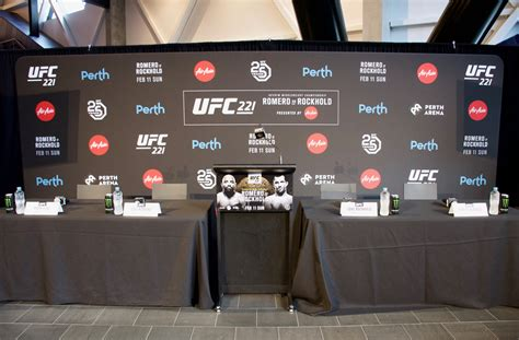 ufc  press conference video  fightmag