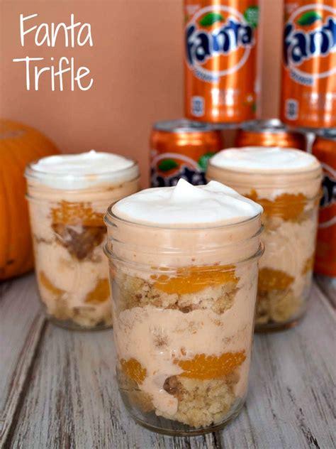 orange fanta trifle  halloween upstate ramblings