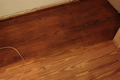 hardwood floor sanding and staining tips and tricks