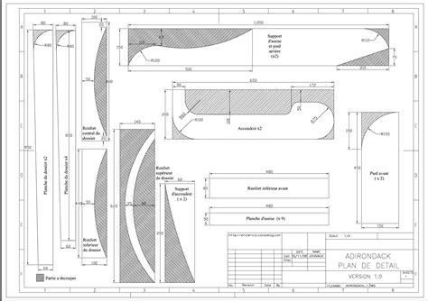recette de cuisine pdf construire sa chaise adirondack blogue meubles et nous