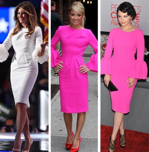 Melania Trump S Rnc Dress Was Worn By Ripa Goodwin Who Wins This Style Showdown Toofab Com