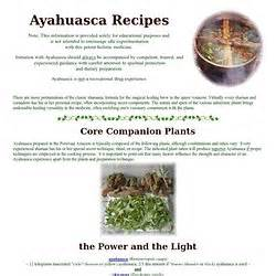 dmt nexus ayahuasca recipe tea