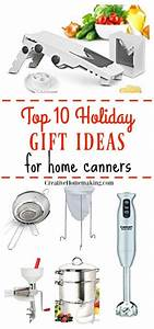 10 Holiday Gift Ideas For Home Canners