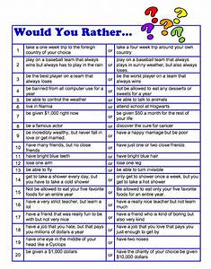 """FREE LANGUAGE ARTS LESSON - """"Would You Rather Questions ..."""