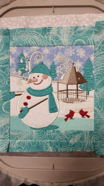 winter fun  anita goodesign quilts embroidery