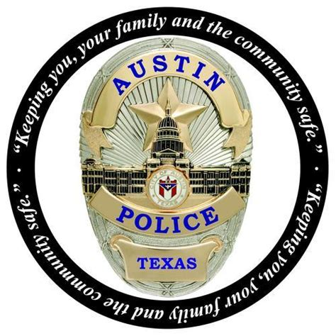 austin police patch badge texas chief tx cops