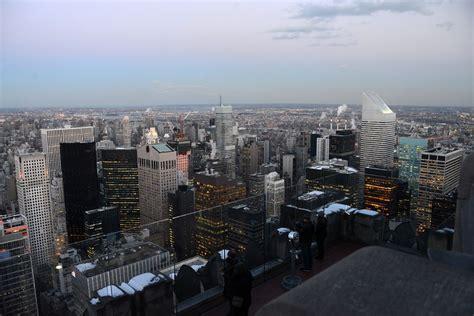 New York City Top Of The Rock 12D Northeast Buildings ...