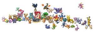 All my soulsilver Pokemon