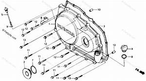 Honda Motorcycle 1988 Oem Parts Diagram For Right