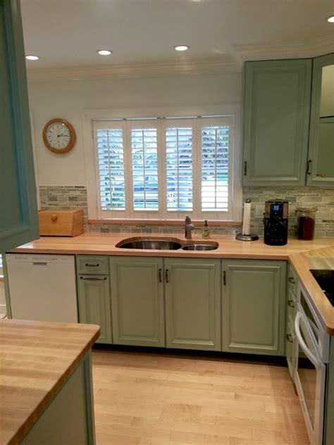 kitchens  wood countertop butcherblock  bar top