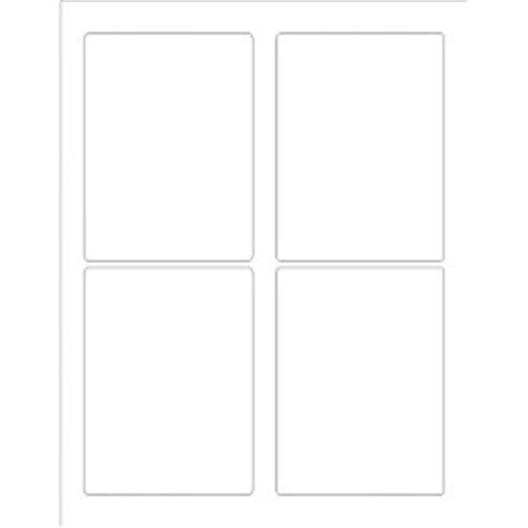 Avery 2 X 3 Label Template by Templates Rectangular Labels 3 1 2 Quot X 4 3 4 Quot 4 Per