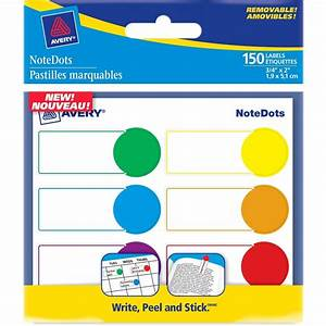 avery notedots color coded label 075quot width x 175 With kitchen colors with white cabinets with avery circle stickers
