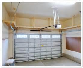 build overhead garage storage overhead garage storage plans pinteres