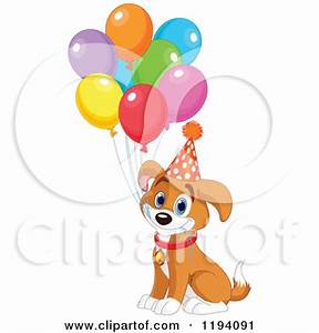 Happy Birthday Dog Clipart (27+)