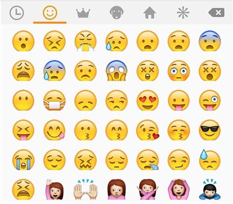emojis iphone grinreads how to get iphone emojis on your htc or samsung
