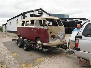 1965 Rhd Vw Split Screen Bus Camper  Very Good Complete
