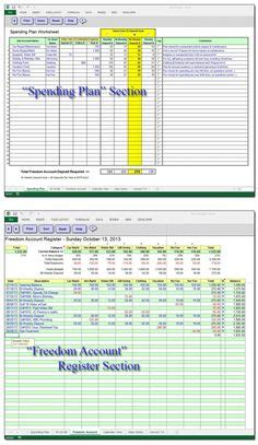 profit accounting spreadsheets  fashion