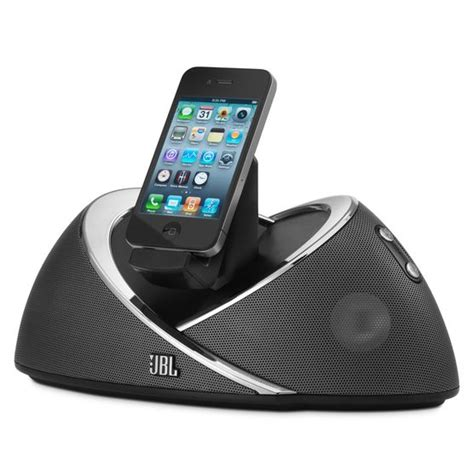 iphone speaker dock jbl onbeat high performance speaker dock for ipod