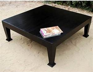 rustic wood black cocktail sofa square coffee table With rustic black wood coffee table