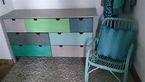 Alte Möbel Neu Streichen : aufm beln aus alt mach neu aus einer braunen kieferkommode wird ein buntes m bel das ~ Eleganceandgraceweddings.com Haus und Dekorationen