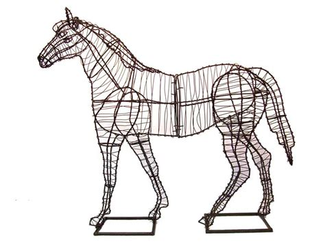 Horse Garden Topiary Frame
