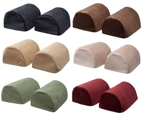 plastic arm covers for sofas chenille round arm caps plain soft touch furniture sofa