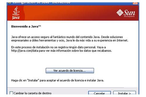 download sun java se runtime environment 6.0