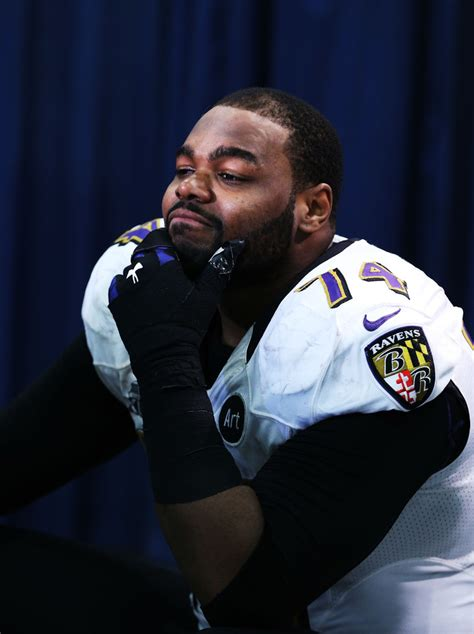michael oher michael oher  super bowl xlvii
