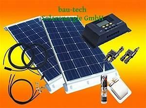 Stromspeicher Für Solaranlagen : 200watt womo solaranlage komplettpaket f r wohnmobile ~ Kayakingforconservation.com Haus und Dekorationen