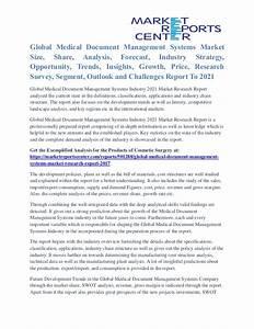 medical document management systems market opportunity and With document management system market size