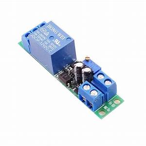 Buy Dc 12v Switch Relay Module W   Adjustable 0