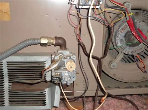 furnace fan not working magic chef forced air furnace blower not working loose