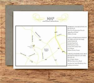 Best ideas direction cards for wedding invitations sample for Directions for wedding invitations free