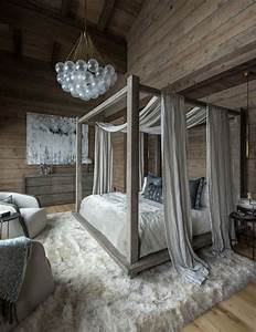 Fascinating, Wood, Canopy, Bed, Frame, Queen, Only, In, Jbirdny