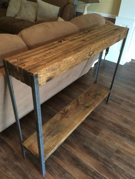 Best 25+ Rustic Sofa Tables Ideas On Pinterest Sofa