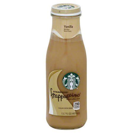 *the soymilk that starbucks uses is adjusted soymilk. Starbucks Frappuccino Vanilla Coffee Drink, 13.7 Fl. Oz. - Walmart.com