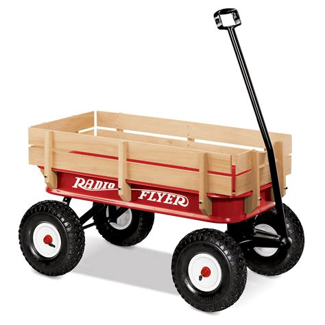 Radio Flyer Allterrain Steel & Wood Kids Wagon Kids