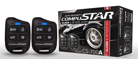 Compustar Alarm & Keyless Entry System.entry Level One Way