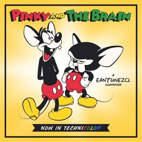 He also did a number of characters in tiny toon adventures, including fowlmouth, arnold the pit bull, and concord condor. Pinky and the Brain in 2020 | Illustration, Doodles, Cartoon
