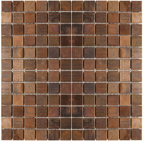 copper mosaic tile mosaic tile medium square antique copper mosaic tile