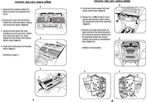security system 2008 toyota camry solara engine control 2008 toyota solarainstallation instructions