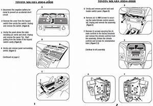 2008 Toyota Solara Installation Parts  Harness  Wires