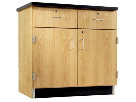2 drawer base kitchen cabinet laboratory base cabinets lab cabinet 7283